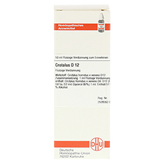 CROTALUS D 12 Dilution 50 Milliliter N1 - Vorderseite
