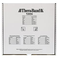 THERA BAND Tubing 7,5 m super stark silber 1 Stück - Vorderseite