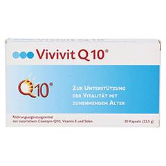 VIVIVIT Q10 Kapseln 30 Stück - Vorderseite