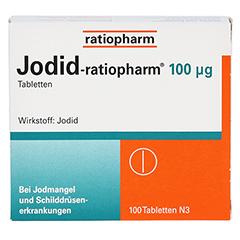 Jodid-ratiopharm 100µg 100 Stück N3 - Vorderseite