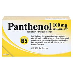 PANTHENOL 100 mg Jenapharm Tabletten 100 Stück N3 - Vorderseite