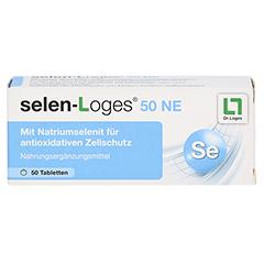 SELEN-LOGES 50 NE Tabletten 50 Stück - Vorderseite
