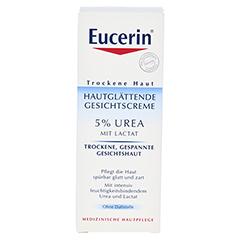 EUCERIN TH 5% Urea Gesichtscreme 50 Milliliter - Vorderseite