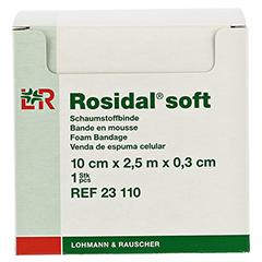 ROSIDAL Soft Binde 10x0,3 cmx2,5 m 1 Stück - Vorderseite
