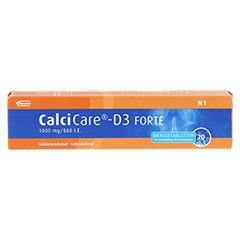 CalciCare-D3 FORTE 1000mg/880 I.E. 20 Stück N1 - Vorderseite