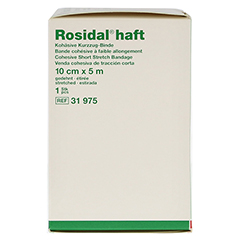 ROSIDAL haft Kompressionsbinde 10 cmx5 m 1 Stück - Linke Seite