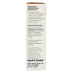 MEDIHONEY Antibakterielles Wundgel Wundverband 50 Gramm - Linke Seite
