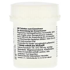 SCHÜSSLER Nr.1 Calcium fluoratum D 12 Tabletten 400 Stück - Linke Seite