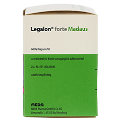 Legalon forte Madaus 60 Stück N2 - Linke Seite