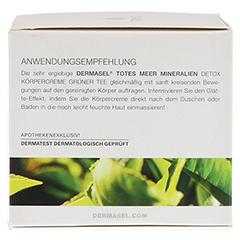 DERMASEL Körpercreme grüner Tee 200 Milliliter - Linke Seite