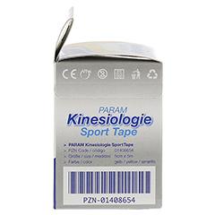 KINESIOLOGIE Sport Tape 5 cmx5 m gelb 1 Stück - Linke Seite