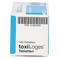 TOXI LOGES Tabletten 100 Stück - Linke Seite