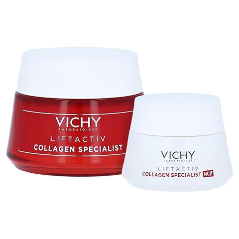 Vichy Liftactiv Collagen Specialist Anti-Age Tagespflege + gratis Vichy Liftactiv Collagen Specialist Nacht 15ml 50 Milliliter