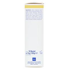 FUSSBAD Sauerstoff Granulat 10x15 Gramm - Rechte Seite