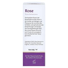 ROSE REIN bulgarisch Öl Bio mit Spezialpipette 1 Milliliter - Rechte Seite