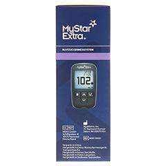 MYSTAR Extra Blutzuckermessgerät Set mg/dl 1 Stück - Rechte Seite