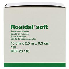 ROSIDAL Soft Binde 10x0,3 cmx2,5 m 1 Stück - Rechte Seite