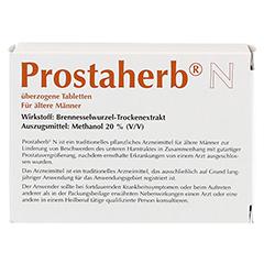 PROSTAHERB N traditionell überzogene Tabletten 120 Stück - Rückseite