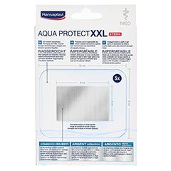 Hansaplast med Aqua Protect XXL Pflaster 5 Stück - Rückseite