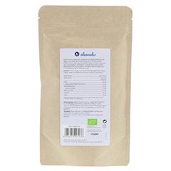 INULIN 100% Bio Pulver 180 Gramm - Rückseite