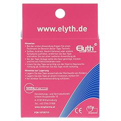 KINESIOLOGIE Tape Elyth 7,5 cmx5 m rot 1 Stück - Rückseite