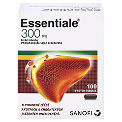 Essentiale Kapsel 300mg 100 Stück N3 - Rückseite
