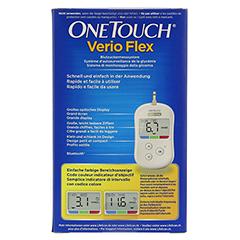 ONE TOUCH Verio Flex Blutzuckermesssystem mmol/l 1 Stück - Rückseite