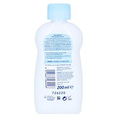 PENATEN ULTRA sensitiv Pflegeöl 200 Milliliter - Rückseite