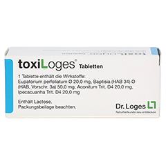 TOXI LOGES Tabletten 100 Stück - Rückseite