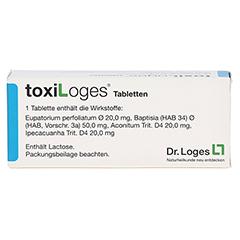 TOXI LOGES Tabletten 50 Stück - Rückseite