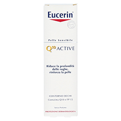 EUCERIN EGH Q10 Active Augencreme 15 Milliliter - Rückseite