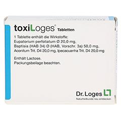 TOXI LOGES Tabletten 200 Stück - Rückseite