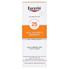 EUCERIN Sun Allergie Schutz Creme-Gel LSF 25 150 Milliliter - Rückseite