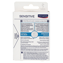HANSAPLAST med Sensitive Strips 20 Stück - Rückseite