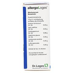 AllergoLoges 50 Milliliter N1 - Rückseite