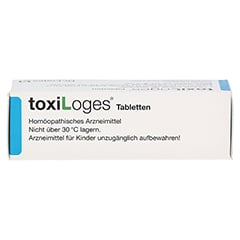 TOXI LOGES Tabletten 50 Stück - Oberseite