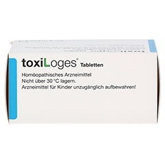 TOXI LOGES Tabletten 200 Stück - Oberseite