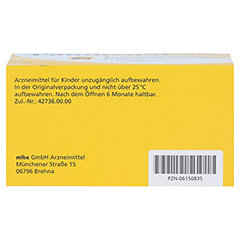 PANTHENOL 100 mg Jenapharm Tabletten 100 Stück N3 - Oberseite