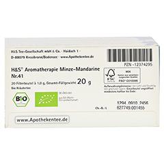 H&S Bio Minze-Mandarine Aromatherapie Filterbeutel 20 Stück - Unterseite