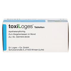 TOXI LOGES Tabletten 100 Stück - Unterseite