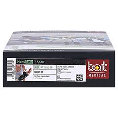 BORT ManuBasic Sport Bandage re.large schw/grün 1 Stück - Unterseite