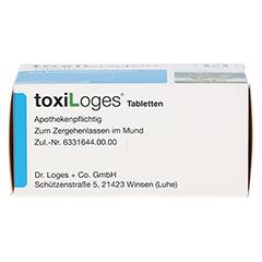 TOXI LOGES Tabletten 200 Stück - Unterseite