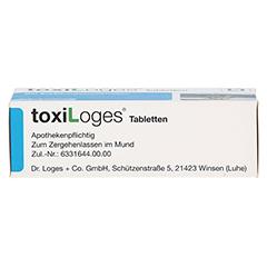 TOXI LOGES Tabletten 50 Stück - Unterseite