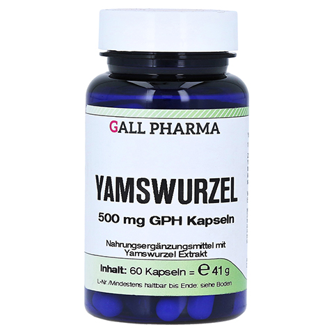 YAMSWURZEL 500 mg GPH Kapseln 60 Stück