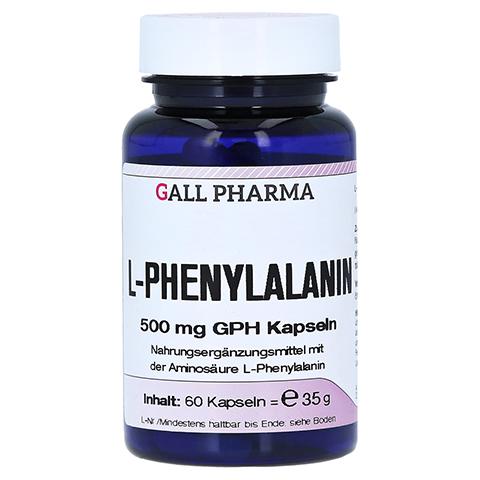 L-PHENYLALANIN 500 mg Kapseln 60 Stück