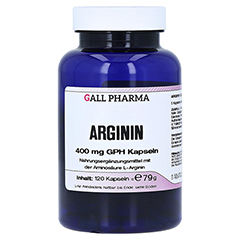 Arginin 400 mg GPH Kapseln 120 Stück