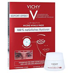Vichy Liftactiv Micro Hyalu Pads + gratis Vichy Liftactiv Collagen Specialist Nacht 15ml 2 Stück