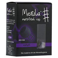 MERULA Menstrual Cup midnight schwarz 1 Stück