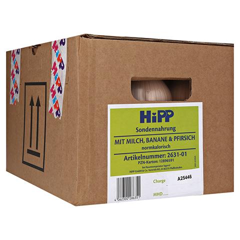 HIPP Sondennahrung Milch Banane & Pfirsich KS.Fl. 12x500 Milliliter