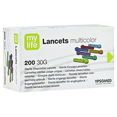 MYLIFE Lancets multicolor 200 Stück